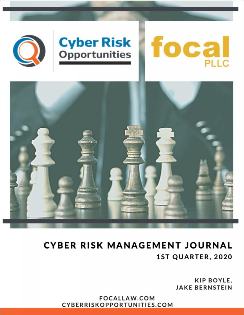 The Cyber Risk Management Journal