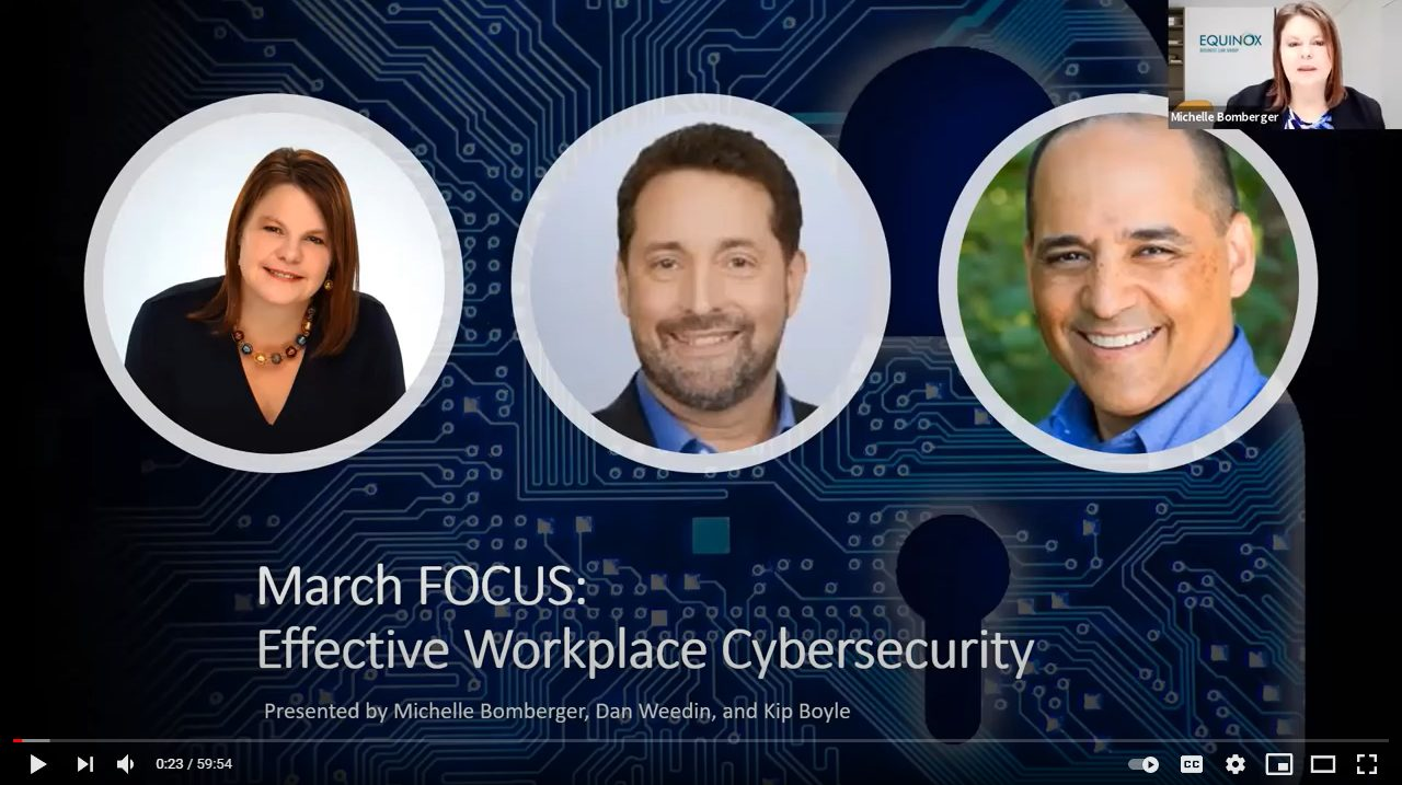 March Focus: Effective Workplace Cybersecurity